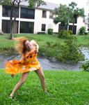 Have you ever wore a sarong during a hurricane?
