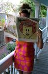 My favorite newspaper frontpage showed Wilma Flintstone on the cover with a single word: Bitch!