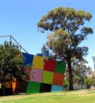 Did someone in Melbourne lose a giant Rubic's Cube?