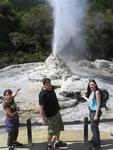 This geyser erupts daily.
