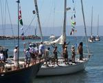Banderas Bay competitors heading out of Paradise Marina. *Photo by Karen Vaccaro S/V Miela.