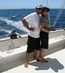Greg and Cherie. *Photo by Karen Vaccaro S/V Miela.