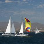 Racing in Banderas Bay 2006. *Photo by Karen Vaccaro S/V Miela.