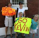 The family advises: Slow and Steady.