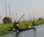 Inle Lake, located in the Shan State, is the 2nd largest lake in Myanmar.