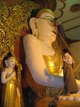You have to make sure the Buddha can see his worshipers.