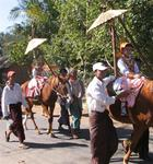 "The Myanmar ""little prince"" parade."