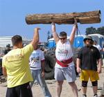 Michelle Smith drives from Kansas to California to compete in Strongman.