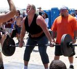 Kristen Rhodes did an incredible 12 reps in the deadlift competition.
