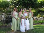 The beautiful bridesmaids. *Photo by Cherie Sogsti.