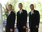 The groomsmen. *Photo by Cherie Sogsti.