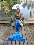 You can take photos with the beautiful mermaids at Weeki Wachee Springs!