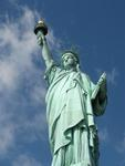 The iconic Statue of Liberty was presented to the United States by the people of France on July 4, 1884.