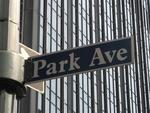 Don't try to find parking on Park Avenue.