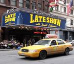 "The Ed Sullivan Theater hosts ""The Late Show"" with David Letterman."