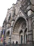 The Cathedral Church of St. John the Divine is the world's largest gothic cathedral.