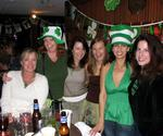 The ladies celebrate St. Patrick's Day (and Beth's Birthday) at the American Legion Yacht Club in Newport Beach.