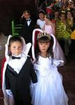 The 5-year old children of Punta Mita parade through the restaurant in their costumes that celebrate the coming of spring.