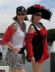 Jean and Cherie, friends since age 9.  Pirates since birth.