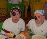 How does a one-eyed pirate wear beer goggles? *Photo by Richard/Latitude 38.