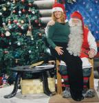 "Cherie celebrated her birthday visiting Santa at his main ""Post Office"" on the Arctic Circle in Finland."