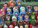 We aren't in Russia, but we still find Russian dolls on almost every street corner.
