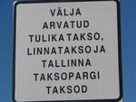 If you lived in Estonia, you could read this sign!