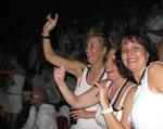 Marjo, Cherie and Karin dancing.  Or were we bouncing?