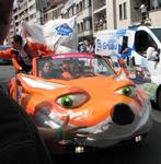 Excuse me, can I borrow your fox car for Burning Man?