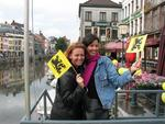 Cherie and Eva in Gand/Gent.