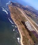 There's the airport at Half Moon Bay.