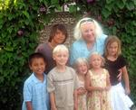 Mom and her 6 grandkids.