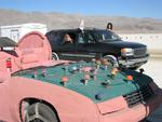 "We took Karem's Yukon and pulled a trailer of Burning Man ""non-essentials""."