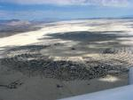 Burning Man 2008, from the air.