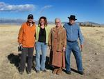 Cherie and Greg with Mark and Ann on the Bighorn Sheep tour run out of Dubois, Wyoming.