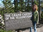 Visting the Grand Canyon of Yellowstone.