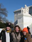Jean, Cherie & Lisa in DC.