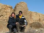 In Chaco Canyon.