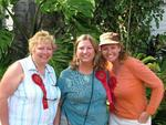 Sue (Ohio), Regina (Texas) and Cherie (California).