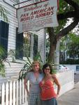 Cherie and Karem at Kelly's--also the birthplace of America's first International Flight from Key West to Cuba.