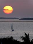 The sunsets in Key West are always spectacular.