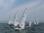 The laser fleet preparing to start