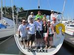 The crew of Cupatillo for the 2012 Banderas Bay Regatta