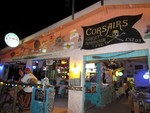 Corsair's, a charming bar and resturant on Jost Van Dyke